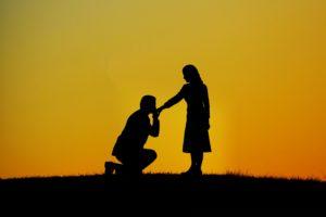 お見合いからプロポーズ